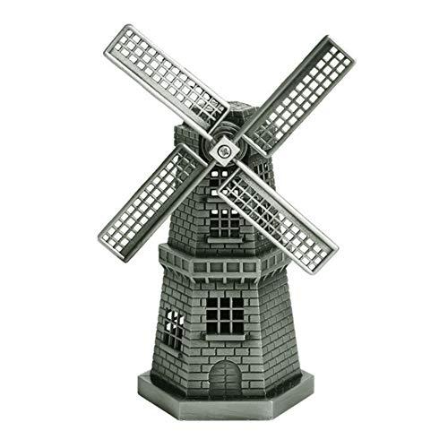 kangOnline Windmühlen, holländische Holland-Windmühlen-Legierungs-Metalldekorations-Statuen-Figürchen für Innenministerium