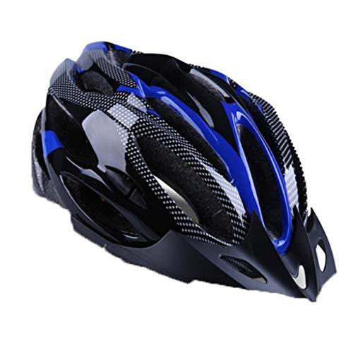 Multi-Vents Casco de Ciclismo súper Transpirable Mountain Road Ultralight Bike Helmet Tamaño Unisex Casco de Ciclismo Ajustable