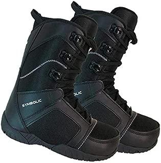 Symbolic Ultra Light Black Snowboard Boots Women 8 9 10 11 12