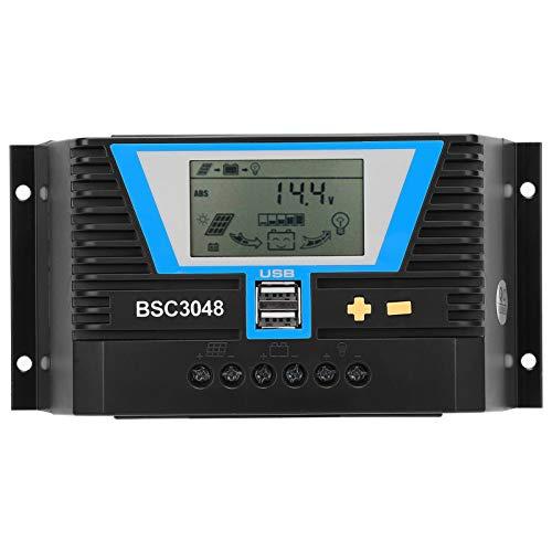 Controlador solar fuerte y duradero conveniente 12V / 24V / 36V / 48V controlador solar Erengy controlador para variedad de baterías BSC3048
