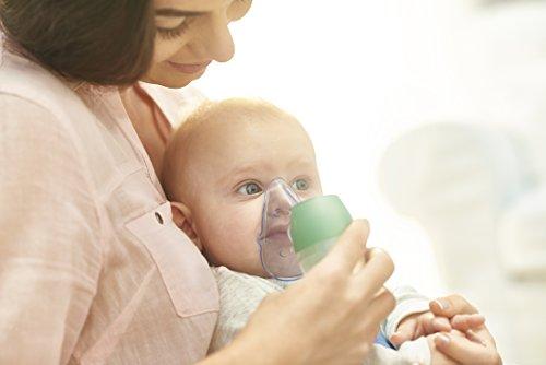 41JifKHde2L - OMRON DuoBaby Inhalador con aspirador nasal 2 en 1, especialmente diseñado para bebés: alivia la congestión nasal y trata afecciones respiratorias