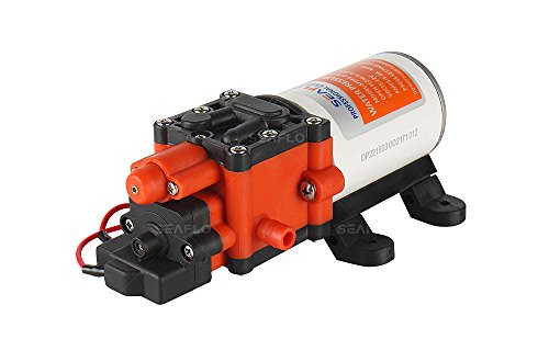 Seaflo 12V 100PSI Self-priming Diaphragm Pump