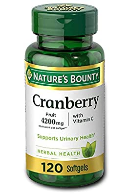 Cranberry by Nature's Bounty
