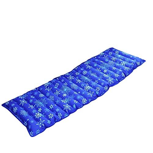 SXRDZ Colchón de Agua Colchón de Agua Hogar Cama de Agua Inyección de Agua Inyección de Agua Almohadilla de Hielo Cojín de Agua Dormitorio Refrigeración Colchón de Hielo Práctico