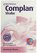 Complan Shake Strawberry Flavour 4 x 57g Sachets Estimated Price : £ 5,49