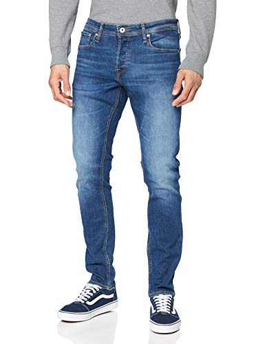 Jack & Jones Herren Glenn Original Slim Jeans, Blau (Blue Denim), 31W / 34L