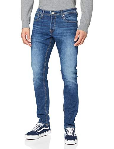 JACK & JONES Jjiglenn Jjoriginal Am 814 Noos Jeans Slim, Blu Scuro, 30W / 32L Uomo