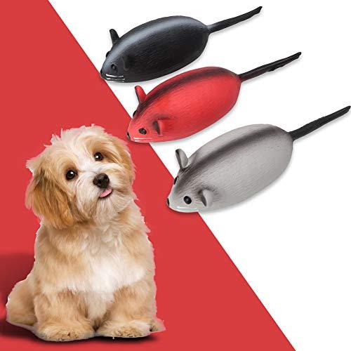 Juguete Molar para Perros, Juguete para morder los molares para Mascotas, Ratón Lindo para modelar, Portátil, Ligero y Duradero, para Jugar Tanto en Interiores como en Exteriores, Atraiga