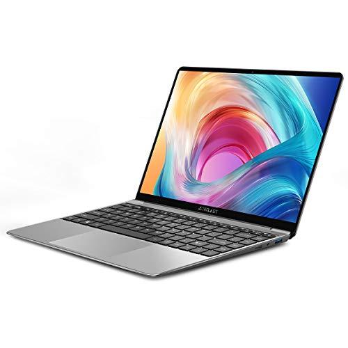 Portátil PC 14.1 Pulgadas, TECLAST F7S Ordenador Portátil 8GB RAM 128GB ROM Dual-Core FullHD IPS Windows 10 Intel Celeron N3350, 38000mWh, USB3.0, WiFi, Extensión del SSD