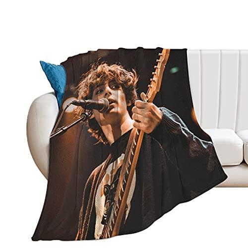 Finn Wolfhard Ultraweiche Micro-Fleece-Überwurf-Decken für Zuhause, Couch, Bett, Sofa, gemütlich, warm, leicht, für alle Jahreszeiten, Geschenk, Dekorationen, 3D-bedruckte Decke für Kinder u