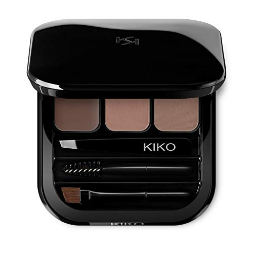 KIKO Milano Eyebrow Expert Palette - 02, Wax 04 g, Powder 2 x 1 g