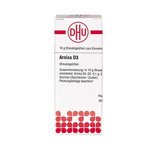 DHU Arnica D3 Streukügelchen, 10 g Globuli