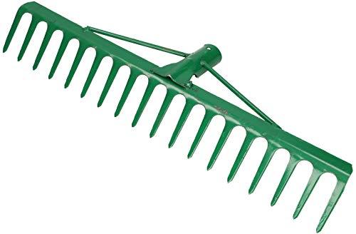 KOTARBAU® Robusto rastrillo de acero x mm y púas, rastrillo para hojas,...