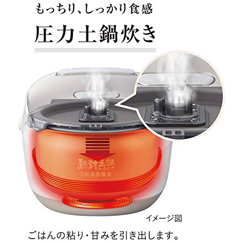 TIGER(タイガー魔法瓶)『圧力IH炊飯ジャー〈炊きたて〉(JPK-A100)』