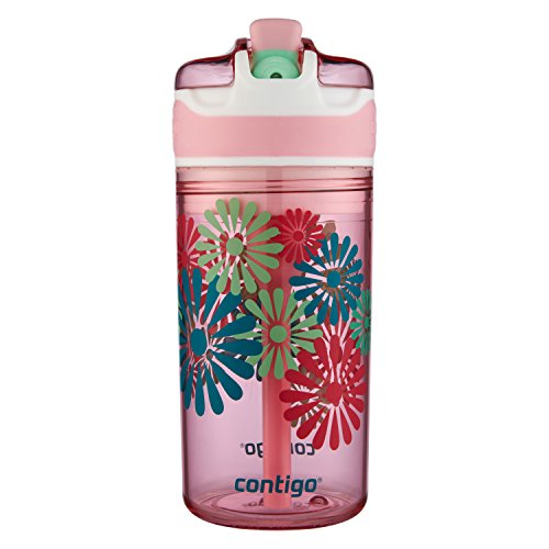 Contigo Snack Hero Drink and Snack Kids Tumbler 13oz Pink Leak-Proof Tritan