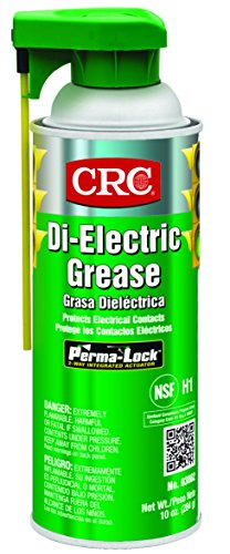 CRC Di-Electric Grease, 10 oz Aerosol Can, Opaque White (03082)