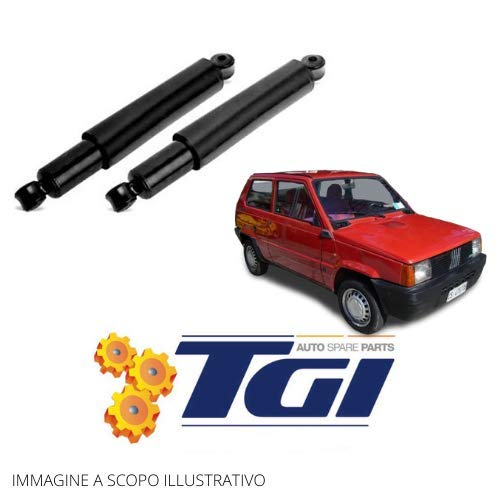 TGI - KIT 2 AMMORTIZZATORI POSTERIORI FIAT PANDA (141) 4x4 dal 1980 al 2004 Trekking