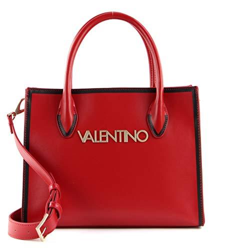 Valentino Bags Mayor, tote para Mujer, Rosso/Nero, Einheitsgröße