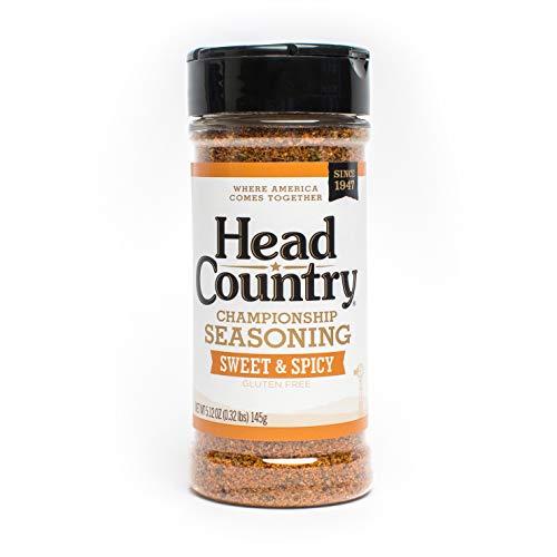 Head Country Bar-B-Q Championship Seasoning, Sweet...