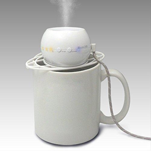 トップランドボトル加湿器オーブホワイトM7012W