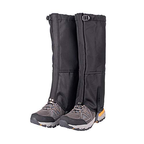 IWILCS - Polainas de senderismo para piernas, polainas de nieve, polainas de protección transpirable para piernas, polainas ajustables impermeables para escalada al aire libre y caza