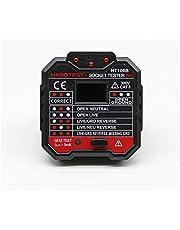 HT106 Socket (UK) Tester Pro RCD GFCI Voltage Measurement + LED light indication