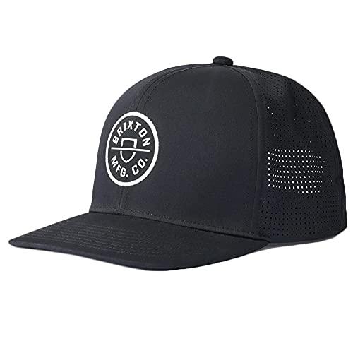 Brixton Snapback Cap Crest X MP Bl