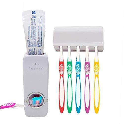 Suporte Para Escova Dental Dispenser De Pasta De Dente Automático