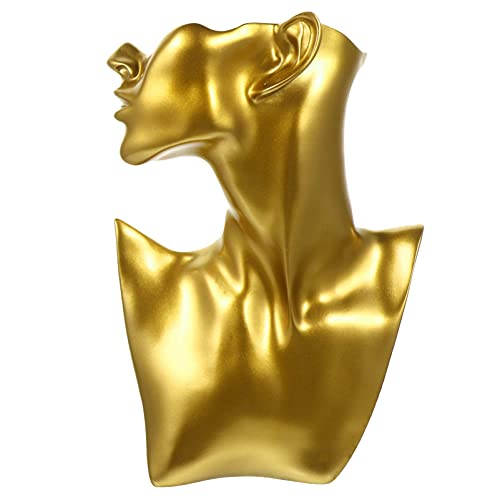 BFDMY Collar Busto Soporte de Exhibición Holder Jewelry Mannequin Display Shelf Holder for Showcase