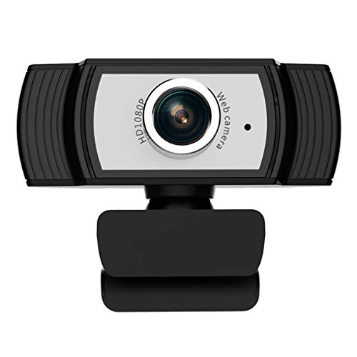 ARCH Webcam HD 1080p, Webcam Manual With Microphone, USB Web Camera Computer Camera For Home Online Class English Learning Remote Conference (Color : Black)