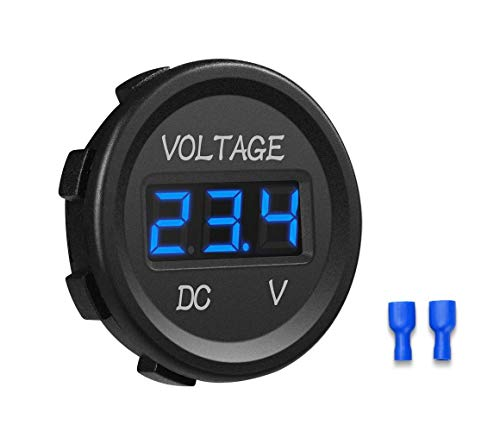 Imagen de Voltímetro Digital 12 V Ygl por menos de 8 euros.