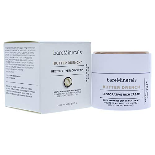 BareMinerals Butter Drench Restorative Rich Face, Cream Crema Viso Nutriente, 60 ml