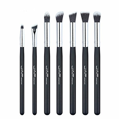 Family Needs JAF Brand 7 stuks/set professionele draagbare make-up kwasten van Eye Blending Oogschaduw Smudge Shading Borstels