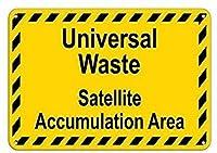 ユニバーサル廃棄物衛星の蓄積