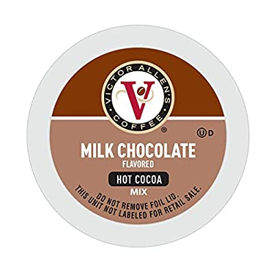 Victor Allen Coffee's Milk Chocolate Hot Cocoa for K-Cup Keurig 2.0 Brewer, Single Serve Cups, 42 Count