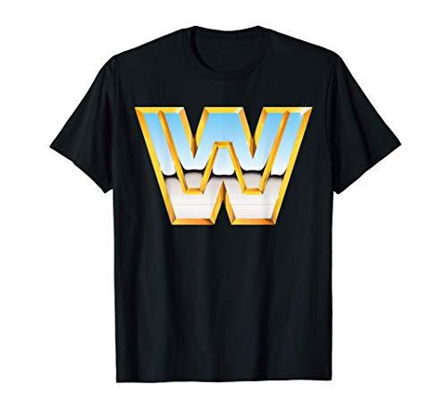 US WWE +Logo Classic 01 Camiseta