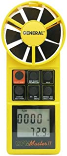 General Tools DCFM8906 Digital Air Flow Meter with CFM Display