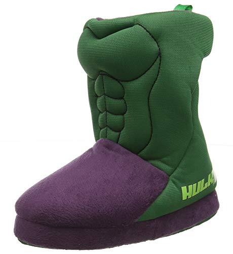 Cerdá Zapatillas De Casa Bota Avengers Hulk, Niños, Verde (Verde C12), 31/32 EU