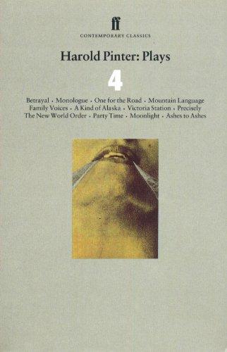 Download Harold Pinter Plays 4 (Faber Contemporary Classics) 0571193846
