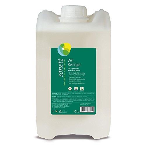 WC-Reiniger Zeder-Citronella: entfernt gründlich Schmutz, Urinstein, Kalkablagerungen