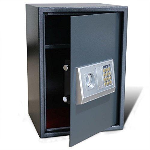 Cassaforte Digitale Elettronica con Mensola 35 x 31 x 50 cm