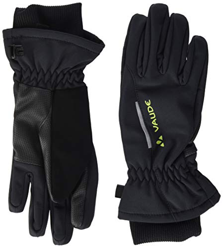 VAUDE Kinder Handschuhe Kids Softshell Gloves, black, 5, 059860100500