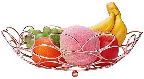 YNHNI Una decoración Sencilla Personalidad frutero frutero Estilo Sala de Mesa de café de Frutas tazón de Baloncesto Bandeja