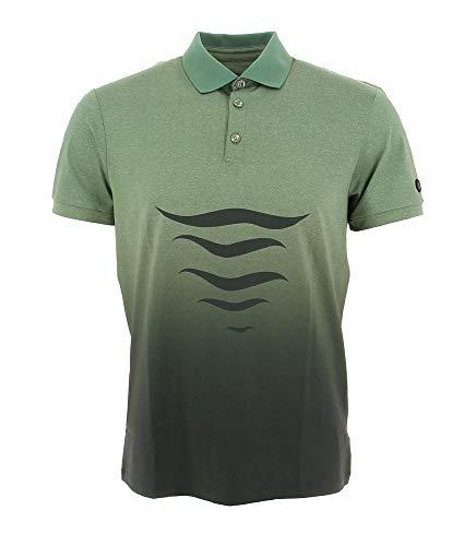 Bogner Sport Mens Loric Grün, Herren Polo Shirt, Größe M - Farbe Seaweed