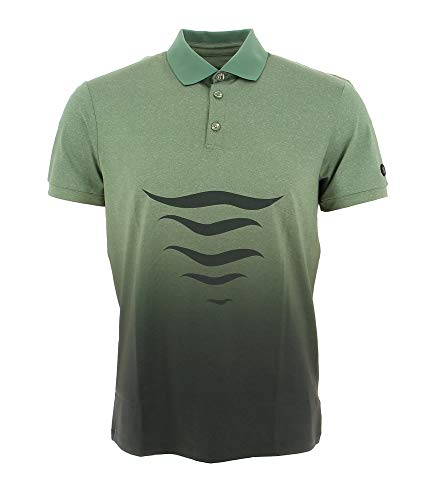 Bogner Sport Mens Loric Grün, Herren Polo Shirt, Größe XXL - Farbe Seaweed