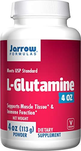 Jarrow Formulas L-Glutamine, Supports Muscle Tissue & Immune Function, 4 oz