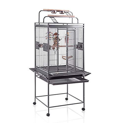 Montana Cages ® | Finca II Play - Antik, Käfig, Voliere, die Zimmervoliere für Sittiche & Papageien