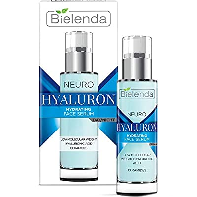 Bielenda Neuro Hialuron - Hyaluronic Anti Wrinkle Serum - Smoothes Wrinkles Lifts And Tightens The Skin - Improves Skin'S Elasticity - Evens Out The Skin Tone - Neuro Hialuron Serum Day/Night - 30 ml