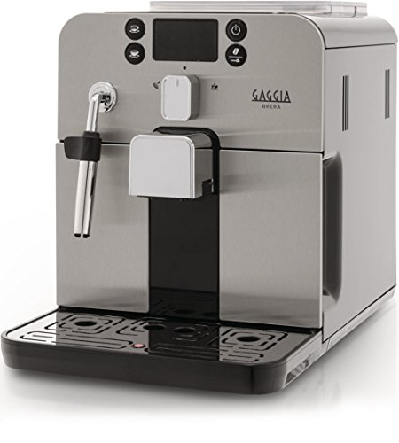 Gaggia RI9305/11 - Cafetera (Independiente, Máquina espresso, 1,2 L, Molinillo integrado, 1400 W, Negro, Acero inoxidable)