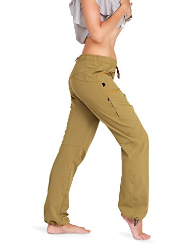 "Ucraft ""Xlite Women's Rock Climbing and Bouldering Pants (410 XS,Woman, Mustard)"